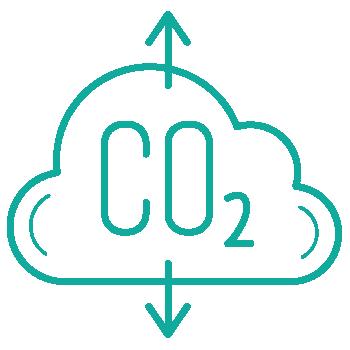 kg isoleret CO2 udledning sparet